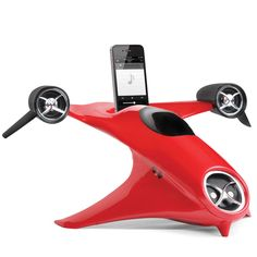 The Futurists Hand Activated iPhone Speaker - Hammacher Schlemmer