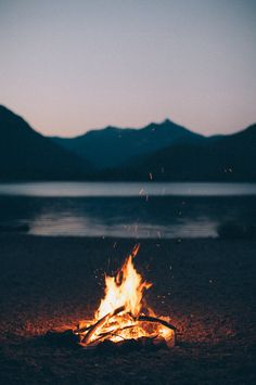 The fire flickered on the beach as the music grew loudly in the darkness. It was the first time Finn and Avery will meet.