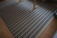 Woodnotes New York paper yarn carpet.