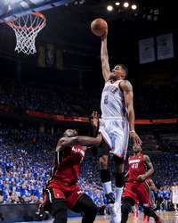 Thabo Sefolosha of the Oklahoma City Thunder during Game 1 of the NBA Finals, #NBAFinals #OKC #OKCThunder http://www.fansedge.com/Thabo-Sefolosha-Oklahoma-City-Thunder-NBA-Finals-Game-1-6122012-_1148642330_PD.html?social=pinterest_pfid77-20056