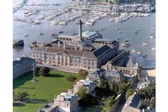 'SHINING LIGHT':  The Royal William Yard in Stonehouse