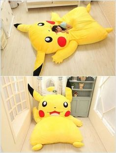 Pikachu I choose you! I want this bed so bad.
