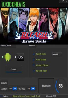 Bleach Brave Souls Hack Cheats Tool