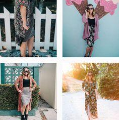 The cutest outfits made up of all LuLaRoe pieces!!  Dresses + skirts + maxi + kimonos. #nicole #monroe #bianka #lucy #maxie #madison #azure #lola #lindsay #cassie #ana #julia #jordan #jill #jade #amelia #irma #classict #cassie #carly #adeline #leggings #randy #sarah #perfectt #pencilskirt #dress #jeanjacket #denim #plussize #harvey #lularoe #llr
