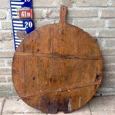 Antique french cheese board