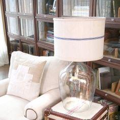 Grain Sack Lamp Shade
