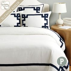 Where to buy gorgeous duvet covers? Find cozy and stylish duvet covers, bed covers, luxury bedding, bedspreads and more at Ballard Designs! Guest Bedroom Decor, Guest Room, Tan Bedroom, Cozy Bedroom, Bedroom Ideas, Master Bedroom, Rustic Bedding, Bedding Decor, Simple Bed