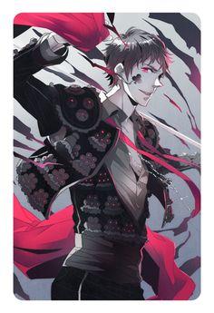 Antonio as a Matador with a rather darker edge - Art by Yasuhiro