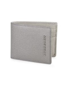 BURBERRY London Leather Hipfold Wallet. #burberry #wallet