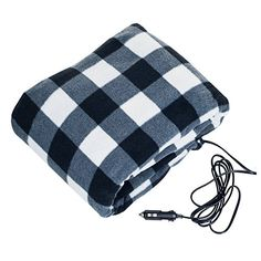 Trademark Tools 75 Bp700 12v Plaid Electric Blanket For Automobile Heating Heated