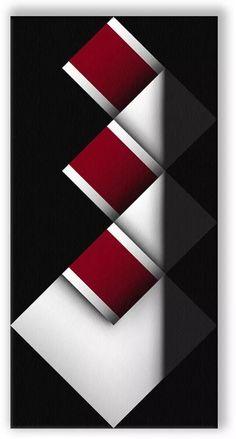 Cuadros Modernos Decorativos Geometricos, Omar Rayo - $ 145.000 en Mercado Libre