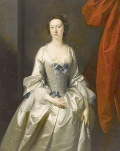 1745 Anne Keppel, Countess of Albermarle by Thomas Hudson