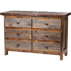 Mountain Woods Furniture® Wyoming Collection™ 6-Drawer 52 Dresser at Cabelas