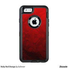 Ruby Red Design Otte