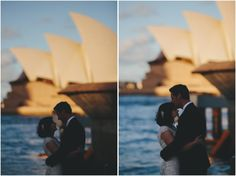 Bride & groom share a private moment by Sydney Harbour with the Opera House glowing in the afternoon sun Sun Photo, Sydney Wedding, Bride Groom, Photo Credit, Opera House, Wedding Cakes, In This Moment, Weddings, Photography