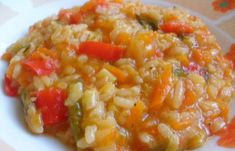 Συνταγή: Ντοματορυζο με λαχανικα