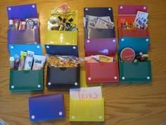 Love These Ideas. Card Boxes on Sale At Walgreens for $.39 | StewardShop Christmas Child Shoebox Ideas, Operation Christmas Child Shoebox, Kids Christmas, Index Card Holders, Operation Shoebox, Samaritan's Purse, Money Saving Mom, Index Cards, Camping