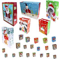 12 pack of large christmas gift bags xmas giftbags kraft designs christmas bags for gifts pinterest christmas gifts christmas gift bags and xmas