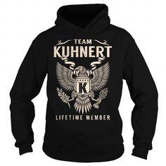 I Love Team KUHNERT Lifetime Member - Last Name, Surname T-Shirt T shirts