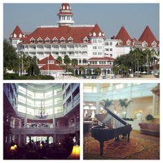 Disney's Grand Floridian Hotel. Most luxurious hotel on property. Simply fabulous.