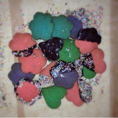 Food color cookie
