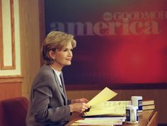Diane Sawyer always looks right at home behind the anchor desk. On January 1, 1999, Sawyer made her debut as co-anchor of Good Morning America on ABC. Sawyer held the position until December of 2009 when she announced that she would be taking a position as the World News anchor.