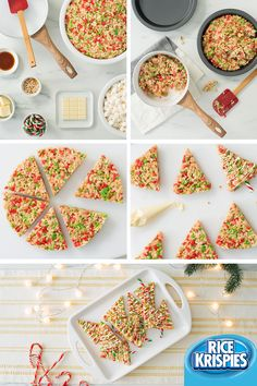 Tis the season for holiday baking! These Rice Krispies® tree pops are a holiday favourite. Plus, they are easy to make and share. Christmas Snacks, Noel Christmas, Christmas Goodies, Holiday Treats, Holiday Recipes, Christmas Rice Krispie Treats, Christmas Recipes, Christmas Decor, No Bake Treats