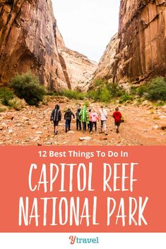 Planning at trip to Utah? Here are 12 incredible things to do in Capitol Reef National Park including the best hikes, scenic drives, and places to stay! Don't miss this National Park on your American Southwest road trip itinerary! See why inside now! National Park Tours, Capitol Reef National Park, National Parks Usa, Cheap Countries To Travel, Places To Travel, Travel Destinations, Midwest Vacations, Michigan Travel, Arizona Travel