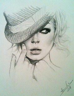 Fashion illustration #illustration #painting #drawing