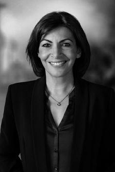 Anne Hidalgo, candidate a la mairie de Paris 2014