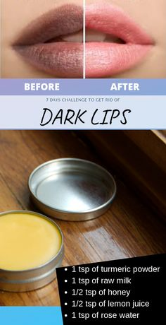 I personally tried this, How To Transform Dark Lips Into Rosy Pink Lips at home – Care – Skin care , beauty ideas and skin care tips Beauty Care, Beauty Skin, Beauty Hacks, Face Beauty, Beauty Style, Homemade Lip Balm, Homemade Skin Care, Homemade Beauty, Beauty Tips For Face