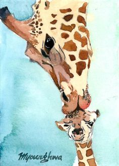 ACEO Limited Edition 6/25My boy in watercolor by annalee377