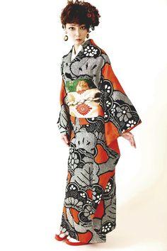 Furisode pretty kimono
