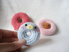 Crochet Mini Donut Amigurumi - Free English Pattern