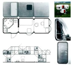 Barcelona Pavilion, Futuristic Home, Prefab Cabins, Micro House, Project Board, Googie, Urban Planning, Modern Architecture, Home Crafts