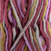 DROPS Eskimo 18p Khaki/Lime/Purple Print