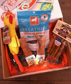 Pets Love Toys Box - October 2012 Review - Monthly Subscription Boxes for Dogs