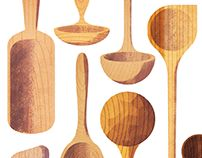 Trees and tools on Behance