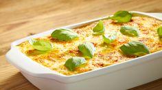 Przepis na lasagne. Wypróbuj koniecznie jego wersję z mozzarellą i suszonymi pomidorami!