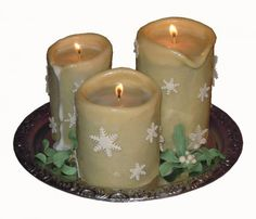 3D Candle Cake tutorial.  Very cool... these are really cakes!