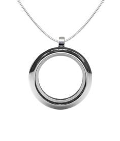 Forming an Eternal Loop, the circle Symbolizes all the Best Things in Life Last Forever. Easily opens so you can add precious items and keep them close to your heart