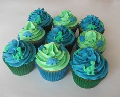 dinosaur cupcakes | Dinosaur Cupcakes | Flickr - Photo Sharing!