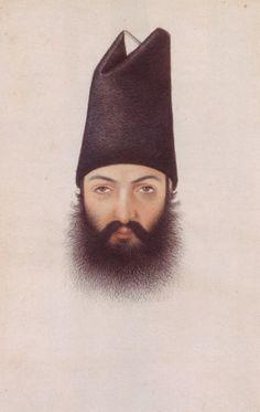 Abu'l Hasan, portrait of 'Imad al-Dawleh, c. 1860