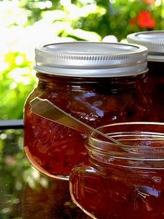 Fig preserve recipe is a true southern delicacy and is served at Big Mill B andB  | www.chloesblog.bigmill.com/miss-chloes-fig-preserves/ #canning fig preserves #fig preserves #fig jam