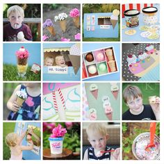 ice cream themed preschool activities // katherine marie photography
