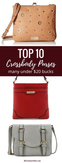 COUNTRY MUSIC PURSES :: Top Crossbody Purses for your next country music concert at HerCountryMusic.com
