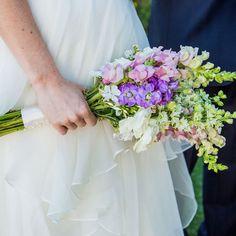 Purple and White Bridal Bouquet https://www.facebook.com/ChloesCreationsFlorist?ref=hl