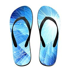 Content Blue Light Flip Flops Beach Slippers -- Be sure to check out this awesome product.