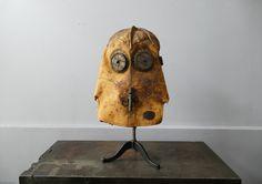 Rare 1890's Vajen Bader Helmet with Original Tank Signed