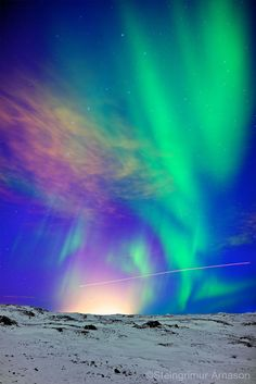 ethereo:  Icelandairora (by steingrimurarnason)